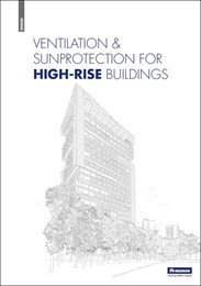 Ventilation & sun protection for high-rise buildings