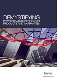 Demystifying powdercoating specifications, products and warranties