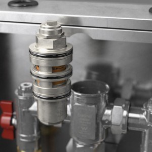 Caroma introduces their first Thermostatic Mixing Valve