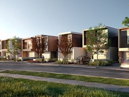 "Australia's first ""new age"" townhouses in western Sydney"