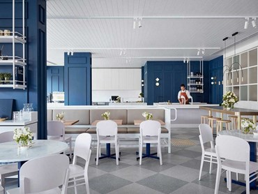 Middletown Cafe, Victoria by Studio Tate. Photography by Alex Hopkins
