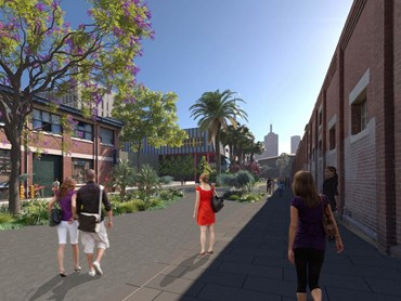 The proposed development of Dodd Street. Image: City of Melbourne