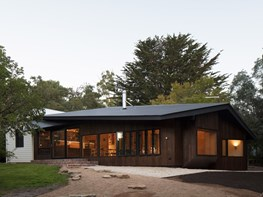 "Daylesford cottage addition is the ""shadow"" of the original home"