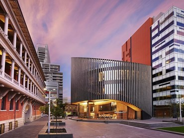 City of Perth Library (WA) by Kerry Hill Architects. Image: ALIA
