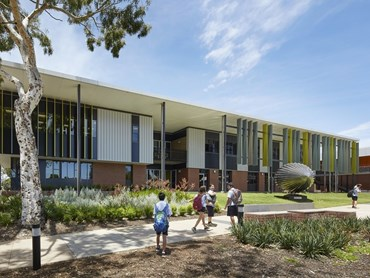 Willetton Senior High School by Hassell. Photography by Douglas Mark Black
