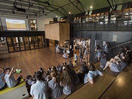 Melbourne school hub highlights heritage-listed buildings