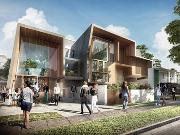Laneway Tower-housing by Cox Architecture (QLD)