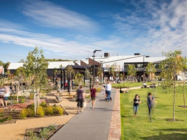 Bowden Town Square by Aspect Studios (SA). Image: Sweet Lime Photo