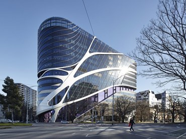 Victorian Comprehensive Cancer Centre by sthDI+MCR (Vic). Image: Victorian Comprehensive Centre