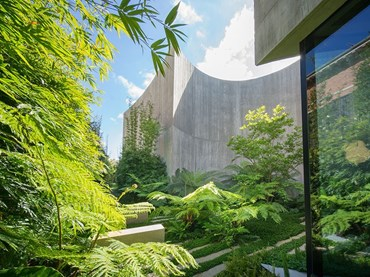 Towers Road Residence Garden by TCL. Photography by John Gollings
