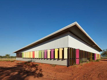 Best Use of Colour Prize: Fitzroy Crossing Renal Hostel (Australia) by Iredale Pedersen Hook Architects