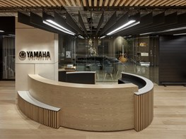 Japanese design language and high-performance workspaces: Yamaha Melbourne headquarters