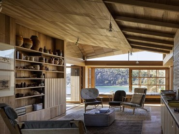 Captain Kelly's Cottage by John Wardle Architects. Photography by Trevor Mein