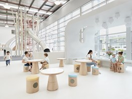 The architect and child's dream: new Sydney family centre features futuristic 'pure play' environment