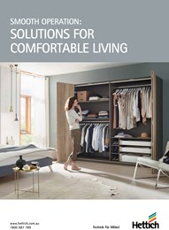 Smooth operation: Solutions for comfortable living