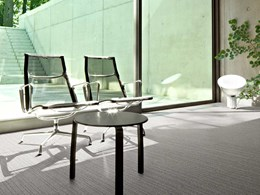 Efficient flooring specification to enhance workplace indoor air quality