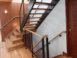 Miami Stainless customises streamline balustrades for NY bespoke stair designer