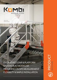 The lightweight and flexible modular stair system that reduces lead times and costs