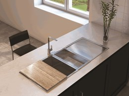Undermount V Top sinks
