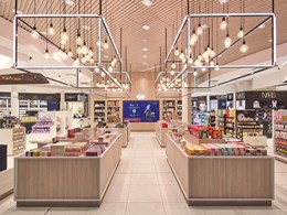 GBR-Heinemann's Tax & Duty Free at Sydney's International Airport wins Gold in the [city] design awards 2016 Sydney design100