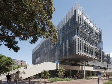 The Melbourne School of Design, The University of Melbourne by John Wardle Architects & NADAAA in collaboration won the inaugural Daryl Jackson Award for Educational Architecture. Photography by John Horner
