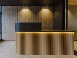 Create striking commercial spaces with Steccawood