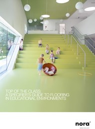 Top of the class: A specifier's guide to flooring in educational environments