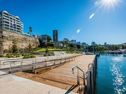 Hidden gem of Sydney's foreshore open to public for first time in 150 years