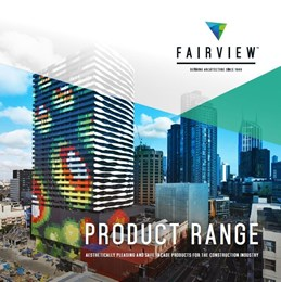 Fairview Architectural product range brochure