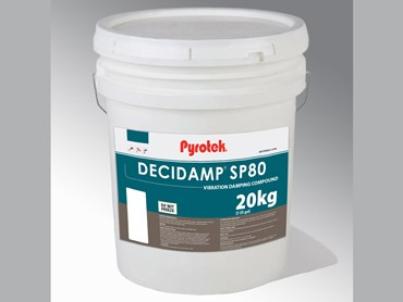 Decidamp® SP Range: Water based vibration damping compound