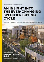 An insight into the ever-changing specifier buying cycle