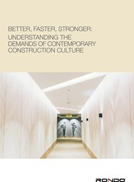 Better, faster, stronger: Understanding the demands of contemporary construction culture
