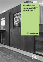 Weathertex Sustainability eBook 2017