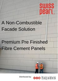 Swisspearl from HVG Facades: A non-combustible façade solution meets stringent fire safety regulations
