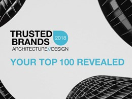 Winners of Top 100 Trusted Brands in architecture and design revealed
