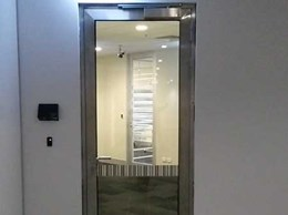TPS stainless steel fire doors commissioned at CBA Melbourne head office