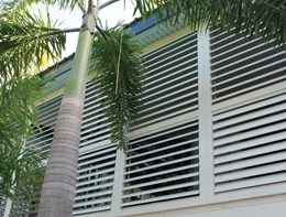 Extend your living space into the outdoors with Aluminium plantation shutters from Superior Screens®