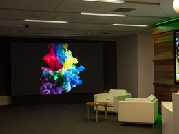 New LED display tech enlivens reception areas