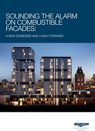 Sounding the alarm on combustible façades: A new standard and a way forward