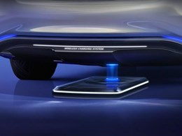 New 120kW wireless vehicle charging system with six times more power