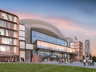 Cox Architecture to design Australia's first stadium hotel