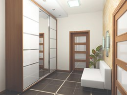 Maximising living space with careful door design