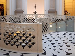 Terrazzo dazzles front and centre in London's refurbished Tate Britain art museum