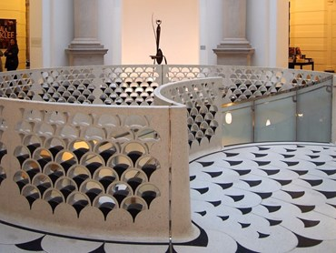 While it's true, any spiral staircase can make a significant mark, the one at Tate Britain is simply spectacular.