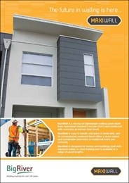 The future of walling is here: MaxiWall lightweight concrete paneling