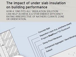 The impact of under slab insulation on building performance