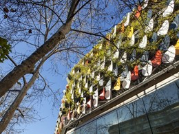 Design considerations for building a green facade