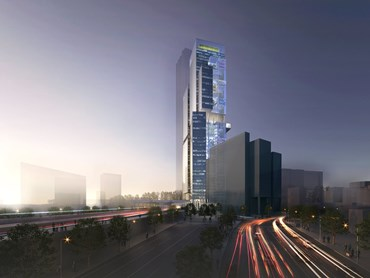 Stages Five and Six: 140,000 sqm dual Commercial 5 Green Star Office Towers which completed a Design Competition in 2013.