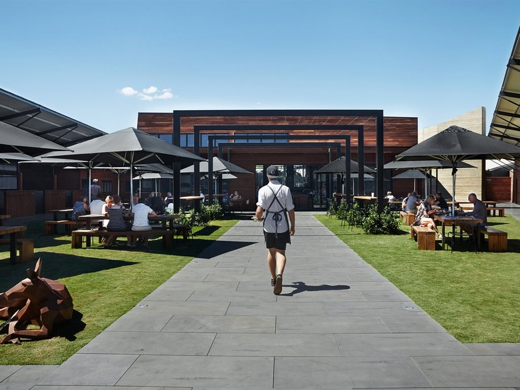 Makybe Diva's abandoned training facility turned bustling culinary hub