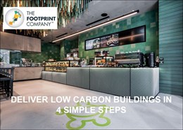 Delivering low carbon buildings in four simple steps